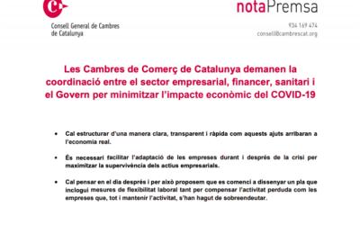 PUBLICACIÓN AYUDAS URGENTES GENERALITAT DE CATALUNYA